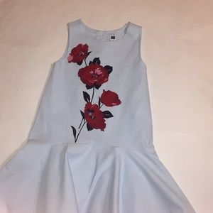 Janie and Jack little girls high low dress